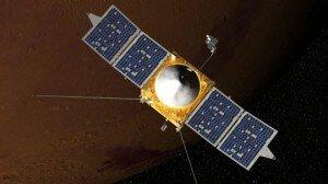 MAVEN, orbitant Mart-Simulació