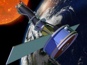 Simulación Iris en órbita