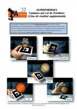 Realitat augmentada en 3D - Marcadors1 a 5