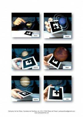Realitat augmentada en 3D - Marcadors 6 a 11