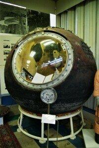 Vostok 1 després d'aterrar - 1961