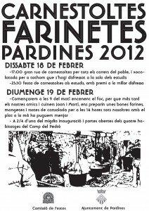 Farinetes i Carnestoltes 2012