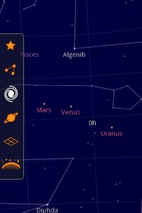 Google Sky Map (RA)