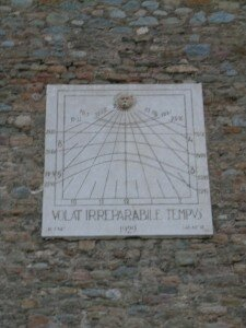 Reloj de Sol-Museo de Sant Pere-Ripoll