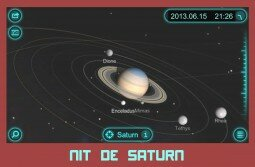 Logo TOC Nit de Saturn