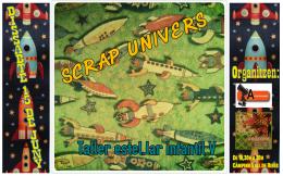 Logo Taller Estel·lar Infantil V-Scrap Univers