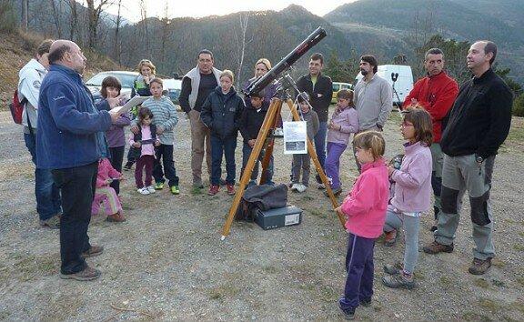 Taller d'Observació Celeste - TOC - AstroPardines