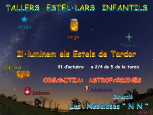 Logo Il·luminem els Estels de Tardor-Taller Estel·lar Infantil