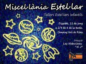 LOGO Miscel.lània estel.lar 11.06.2016 - Taller Estel·lar Infantil - Ribes de Freser